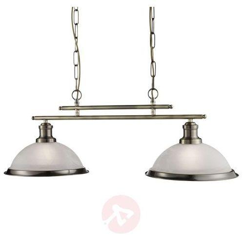 Searchlight Piękna lampa wisząca bistro w antycznym stylu