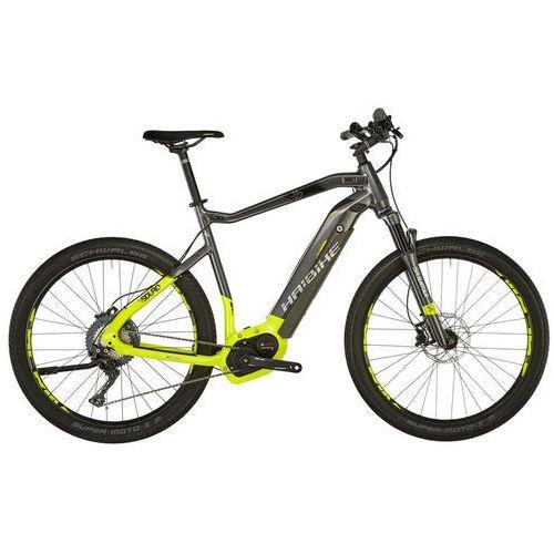 """Haibike sduro cross 9.0 rower elektryczny crossowy żółty/czarny 60cm (27.5"""") 2018 rowery elektryczne (4054624089428)"""