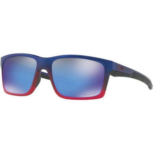 Oakley mainlink okulary rowerowe czerwony/niebieski 2018 okulary przeciwsłoneczne