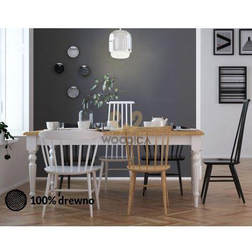 Stół nicea rozsuwany 29 dębowy 180x76x90 marki Woodica