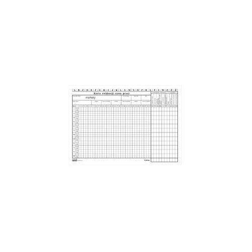 Druk Karta ewidencji czasu pracy OS-228 A4, DR784