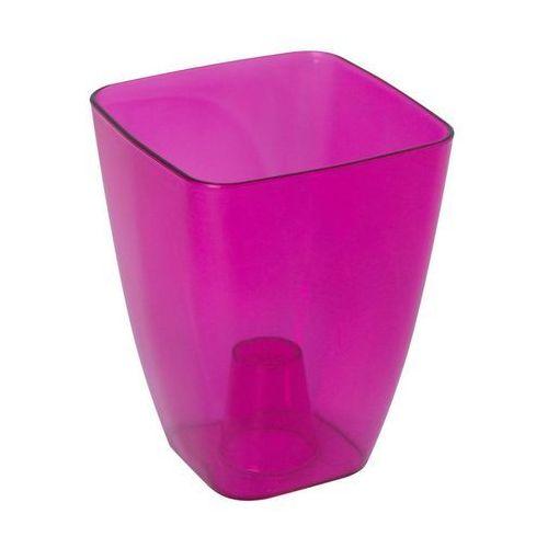 Form-plastic Osłonka plastikowa 13 x 13 cm różowa storczyk