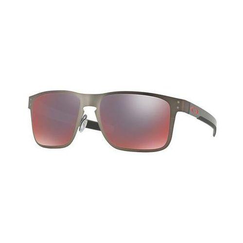 Okulary Słoneczne Oakley OO4123 HOLBROOK METAL Polarized 412305, kolor żółty