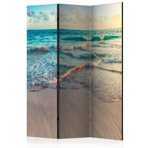 Parawan 3-częściowy - Plaża w Punta Cana [Room Dividers]