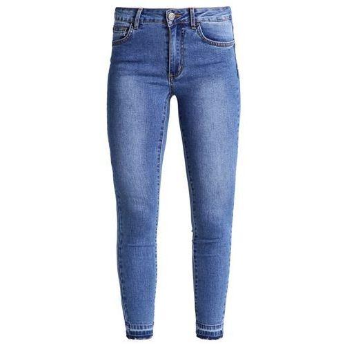 Vila VICOMMIT Jeans Skinny Fit medium blue denim, kolor niebieski