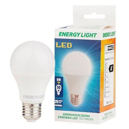 Żarówka 6W ENERGY LIGHT E27 BAŃKA ciepła (5901891163100)