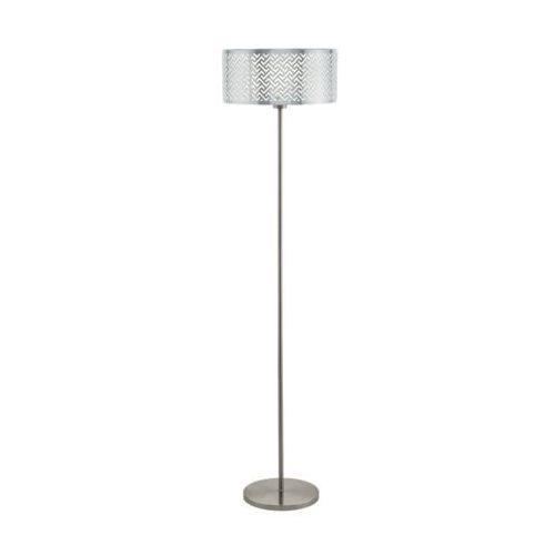 Lampa podłogowa Eglo Lemington 1 49168 1x60W E27 nikiel mat/ chrom (9002759491680)