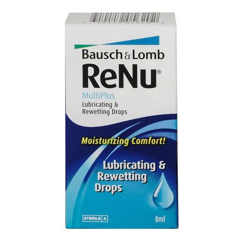 Bausch & lomb Renu drops 8 ml
