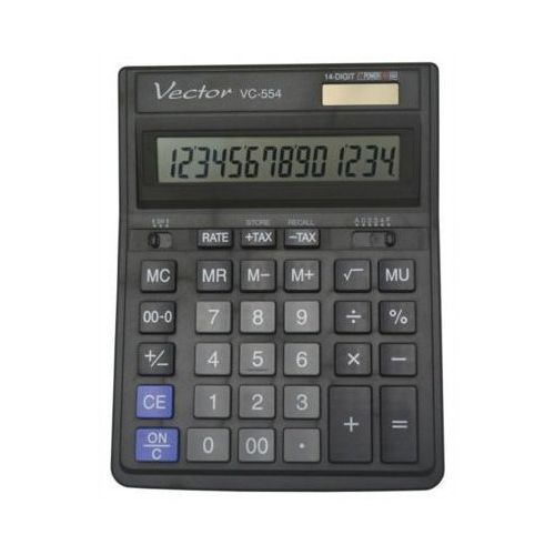 Kalkulator kav vc-554x 14 pozycyjny -. marki Vector