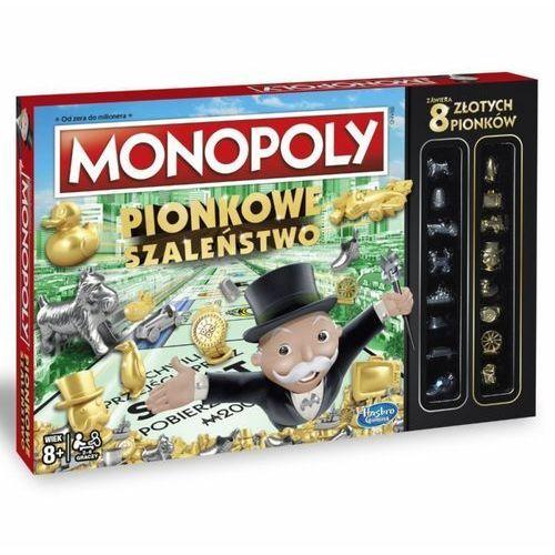 Gra monopoly pionkowe szaleństwo - poznań, hiperszybka wysyłka od 5,99zł! marki Hasbro