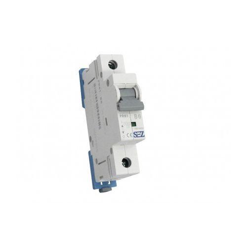 Pce B6a 1p 10ka wyłącznik nadprądowy bezpiecznik typ s eska pr61 sez 0050