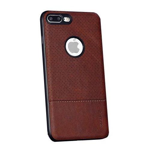 Etui QULT Back Case Drop do iPhone 7/8 Plus Brązowy