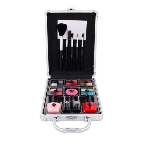 2k complete beauty train case zestaw complete makeup palette dla kobiet - OKAZJE