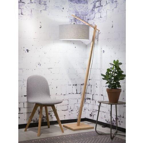 lampa podlogowa andes,abażur w kolorze jasnym szarym lg, rozmiar 47x23 andes/f/4723/lg marki Good&mojo