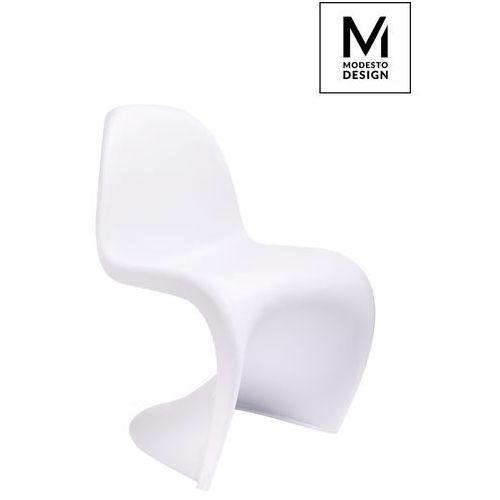 Krzesło MODESTO HOVER białe C1074.WHITE - King Home - Sprawdź kupon rabatowy w koszyku, C1074.WHITE (8717187)