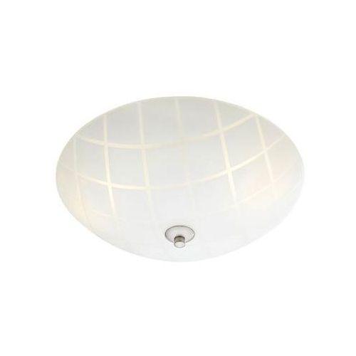 Markslojd ruta 107756 plafon lampa sufitowa 2x40w e14 biały/stalowy