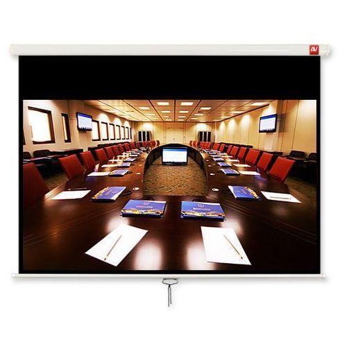 Ekran ścienny 280x200cm avtek business 280 - matt white (ramki + top 26cm, obraz 270x169cm) marki Vidis