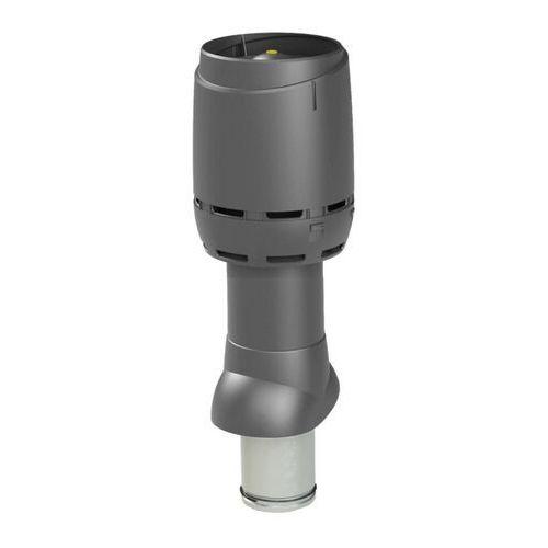 VILPE Kominek wentylacyjny izolowany FLOW 125P/IS/500 Antracyt - Specjalistyczny sklep - 28 dni na zwrot - Raty 0%