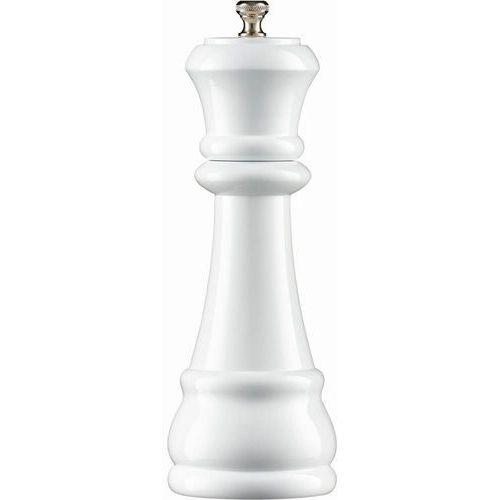 Młynek do przypraw drewniany Królowa, wys. 20 cm