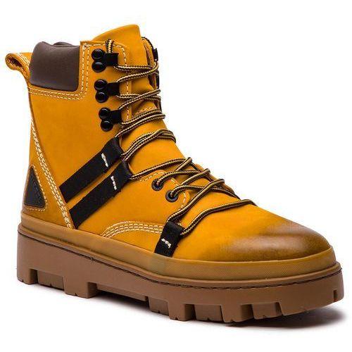 Trapery DIESEL - D-Vibe Hikeb Y01818 P0548 T3061 Sunflower, kolor żółty