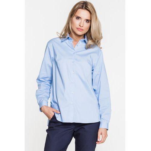 Biała koszula we wzory paisley - Duet Woman, 1 rozmiar