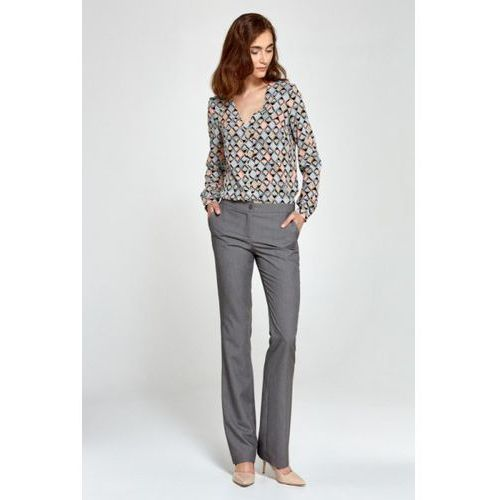 Spodnie bootcut sd29 grey marki Nife