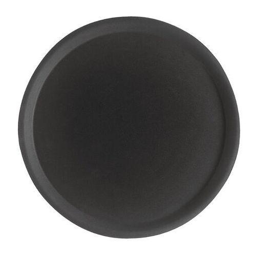 okrągła antypoślizgowa taca camtread z włókna szklanego czarna marki Cambro