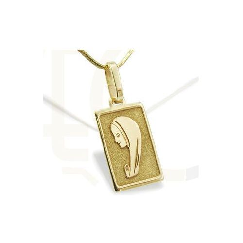 Medalik z żółtego złota MED-1-3 - ok. 13,8 mm X 5,8 mm, kup u jednego z partnerów