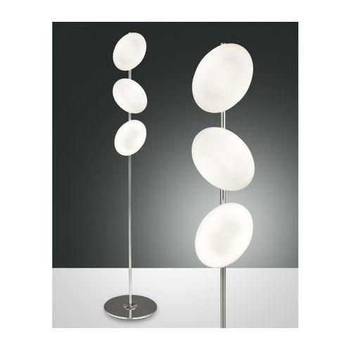 melody lampa stojąca chrom, 3-punktowe - nowoczesny - obszar wewnętrzny - melody - czas dostawy: od 8-12 dni roboczych marki Fabas luce