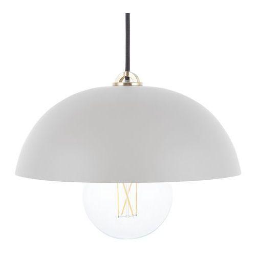 Lampa wisząca szara TORDERA, kolor Szary