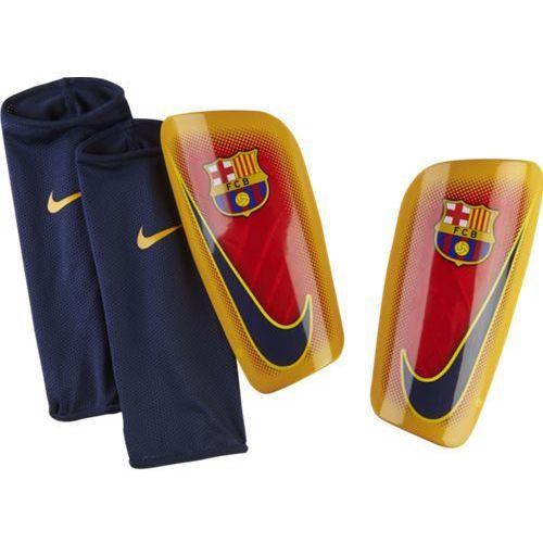 ochraniacze piłkarskie fc barcelona mercurial lite - sp0303-739 marki Nike