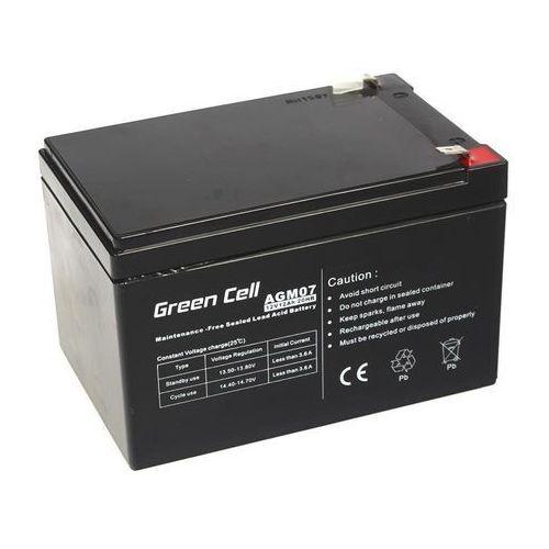 Akumulator AGM 12V 12Ah {151 × 98 × 98 mm} (GreenCell)