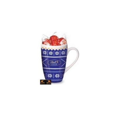Zestaw Lindt Lindor Milk Nostalgic Cup Niebieski 125g