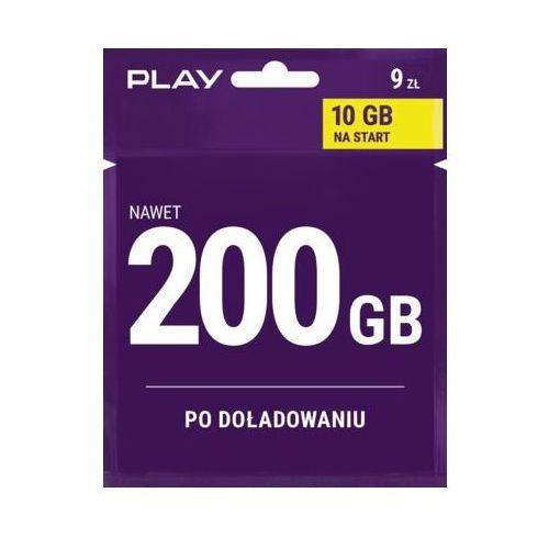 Play Starter internet na kartę 9 pln (5907782185770)