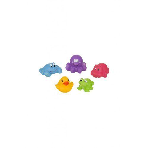 Zabawki kąpielowe zwierzątka 5szt 5O32JG (5907644003631)