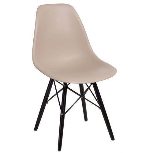 Krzesło p016w insp. dsw na czarnych nogach marki D2