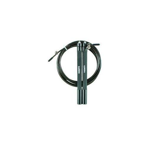 Tsr skakanka speed rope- czarny - czarny (5903140107668)