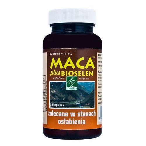 Kapsułki Maca plus Bioselen x 80