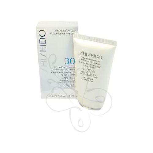 Shiseido  urban environment uv protection cream spf, kategoria: kremy uniwersalne