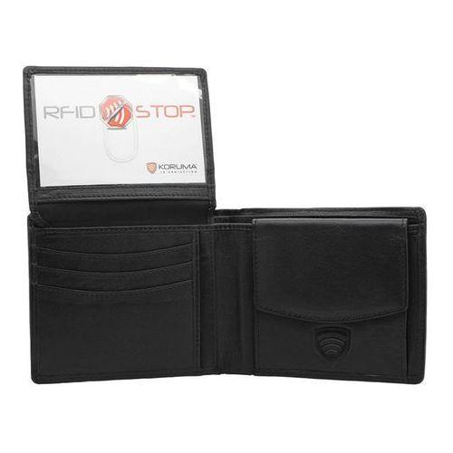 Męski portfel chroniący karty zbliżeniowe