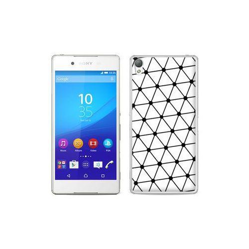 etuo Fantastic Case - Sony Xperia Z3+ - etui na telefon Fantastic Case - trójkątna siatka