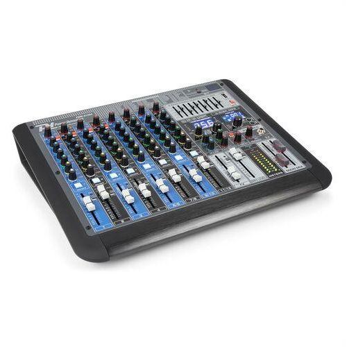 Power dynamics pdm-s1204 12-kanałowy mikser muzyczny dsp/mp3 port usb odbiornik bt