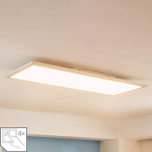 Lindby Nowoczesny plafon led 80cm 4-stopniowe ściemnianie - enja