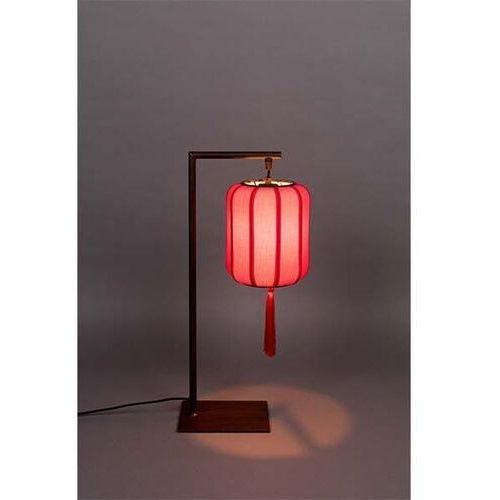 Dutchbone Lampa stołowa SUONI czerwona 5200093, 5200093