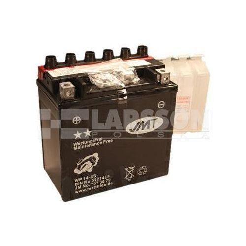 Jm technics Akumulator bezobsługowy jmt ytx14-bs (wp14-b) 1100210 piaggio/vespa gts 300, bmw k 1300