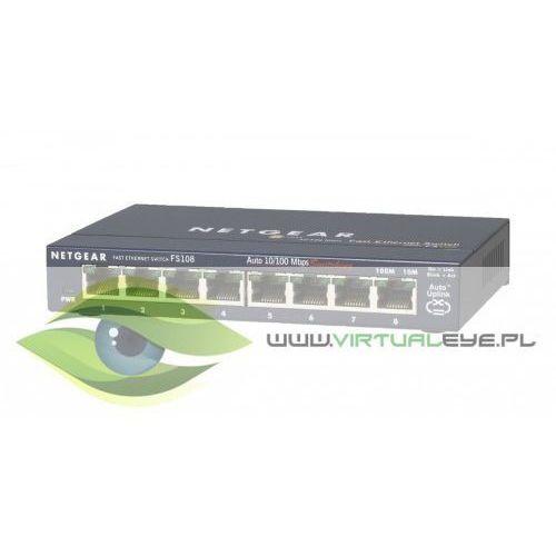 switch unmanaged 8xfe - fs108 marki Netgear