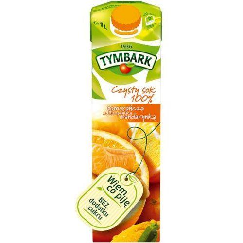 Tymbark Sok  1l. - pomarańczowy z hiszp.mandarynką