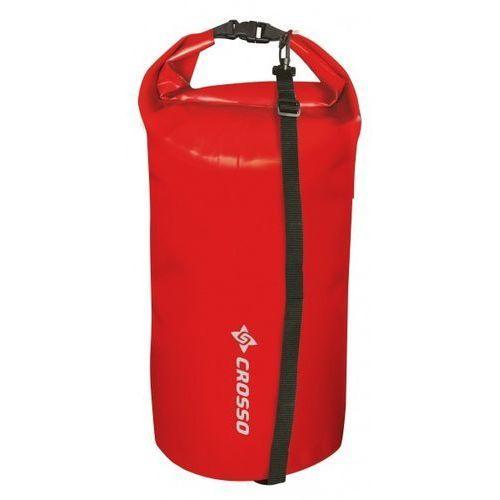Worek transportowy Crosso wodoszczelny 20 l czerwony (5902150549772)