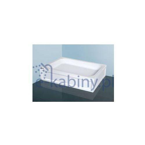 brodzik prostokątny classic b/cl 75x110x15+stb 75x110x15cm marki Sanplast