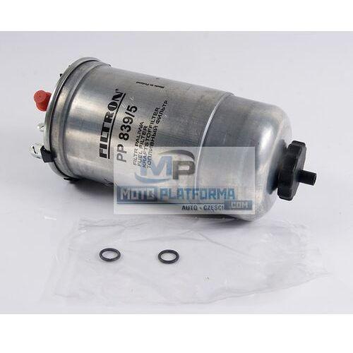 Filtr paliwa - FILTRON - PP 839/5 - SEAT / SKODA / VW - 1.4TDI, 1.9SDI, 1.9TDI - sprawdź w wybranym sklepie